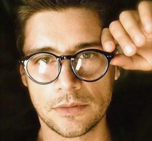 круглые очки 14
