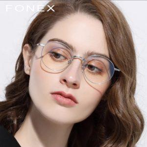 кругыле очки прозрачные