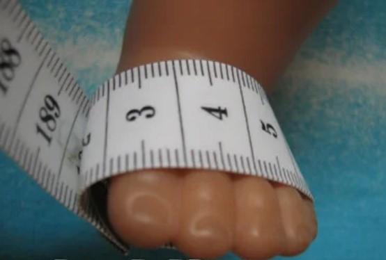 кукла мерки