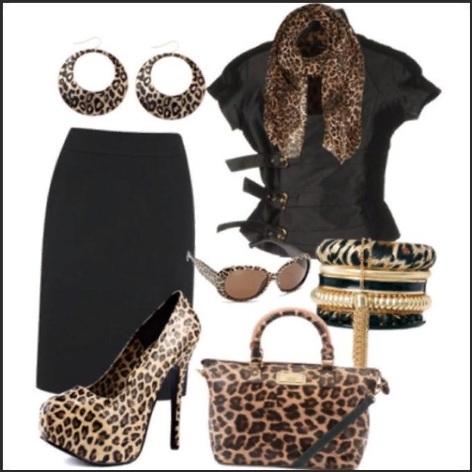 леопардовая обувь 10