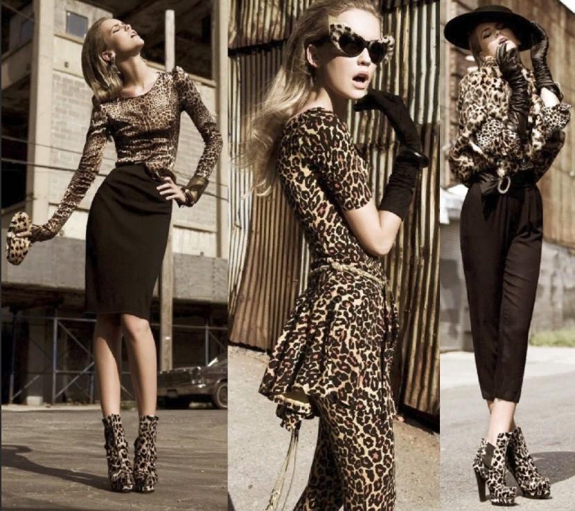 леопардовая обувь 11