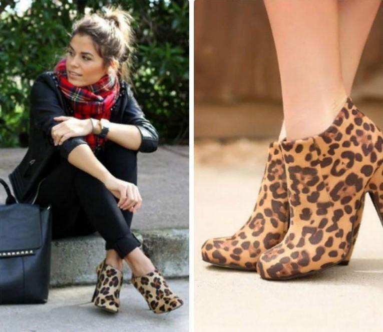 леопардовая обувь 12