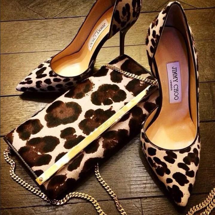 леопардовая обувь 15
