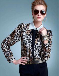 леопардовая обувь 16
