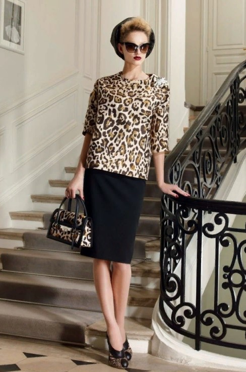 леопардовая обувь 18
