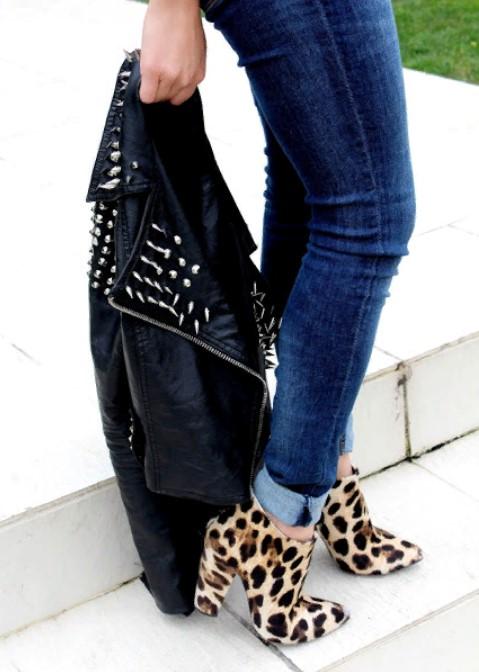 леопардовая обувь 19