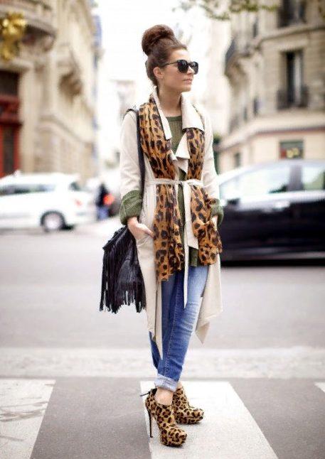 леопардовая обувь 2