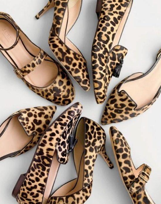 леопардовая обувь 4