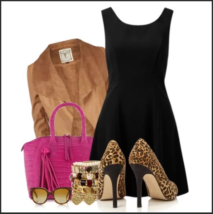 леопардовая обувь 8