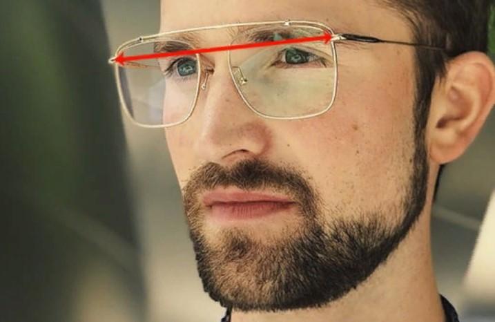 очки ширина