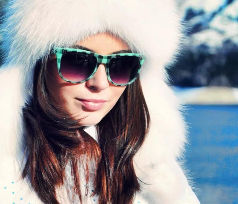 очки зимой 6