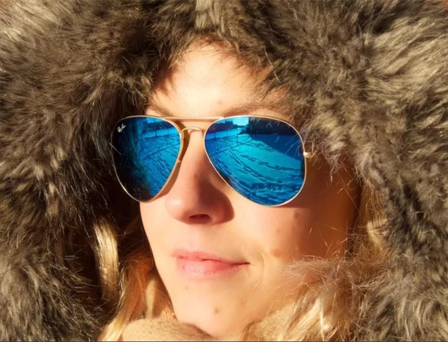 очки зимой 7