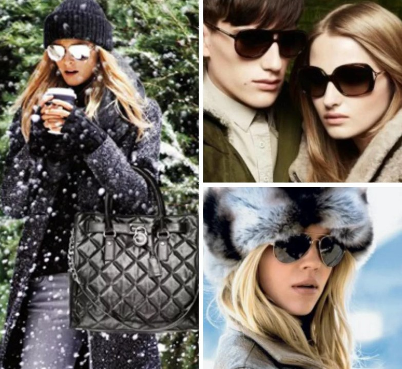 очки зимой 8