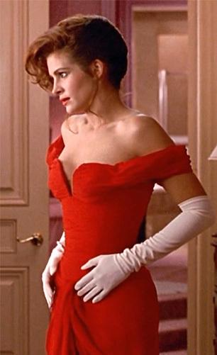 Красное платье Джулии Робертс