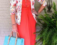 Летняя мода для женщин за 50
