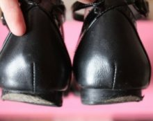Почему каблуки стираются с внешней стороны
