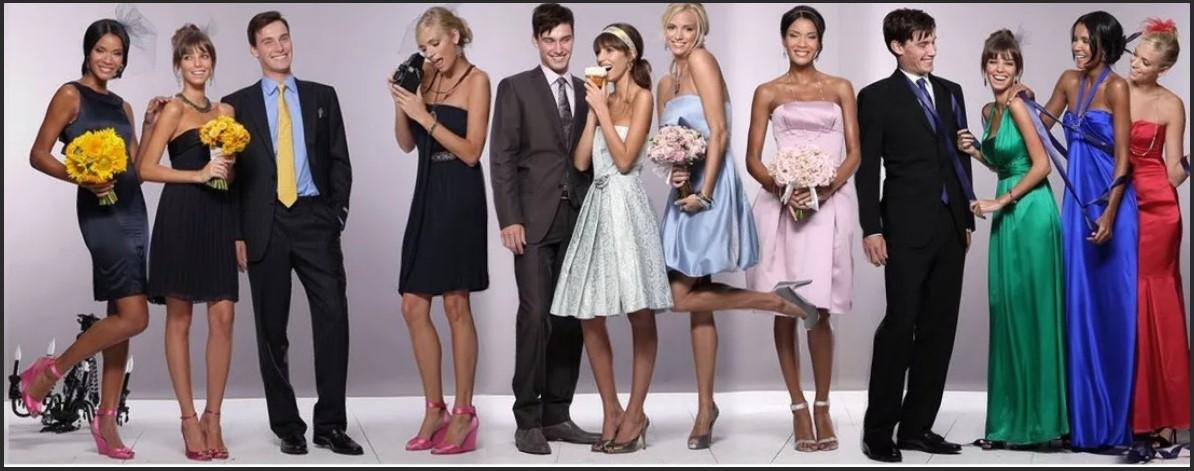 свадьба стили