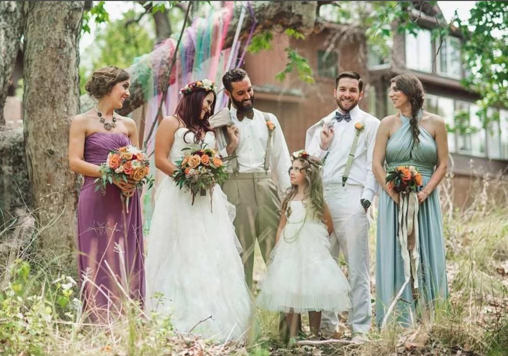 свадьба в стиле бохо-шик