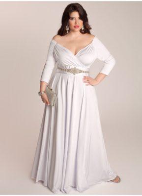 свадебное платье для невест-пышек