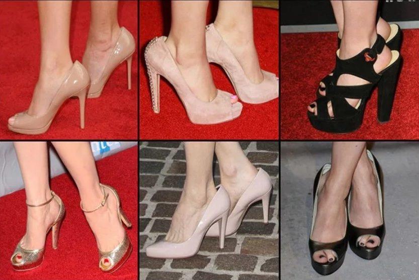 туфли велики