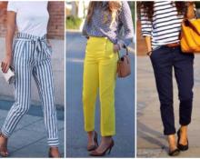 В каких брюках не жарко летом