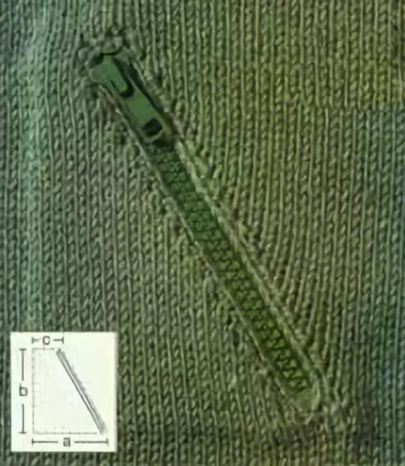внутренний карман спицами 4