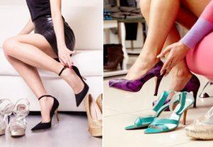 выбор удобных туфель
