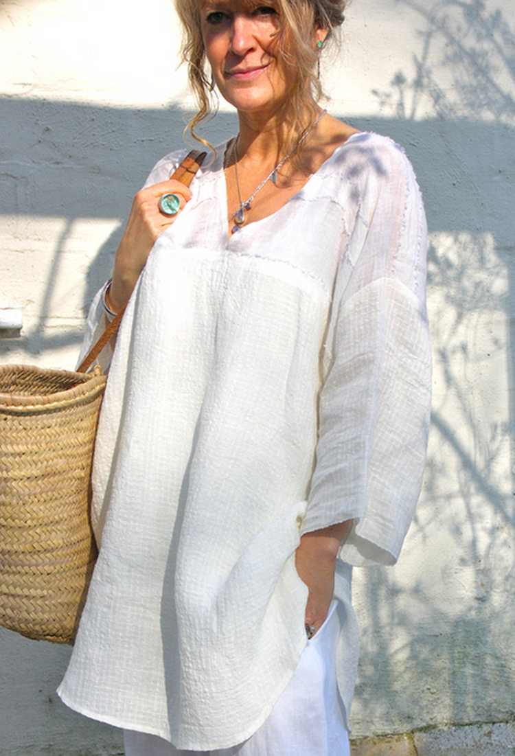 белая туника
