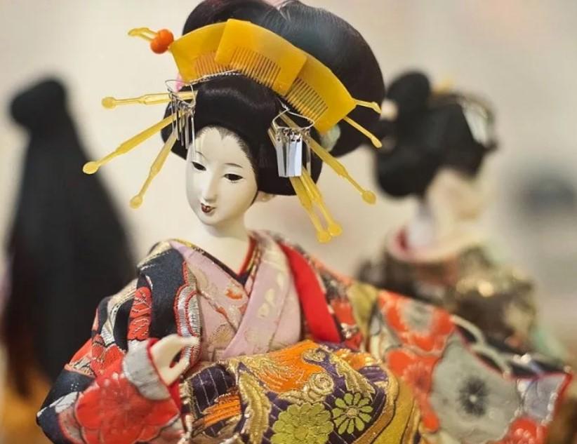 япония кукла