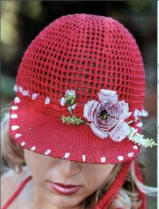 женская кепка с козырьком крючком