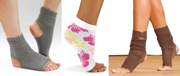 носки без пальцев