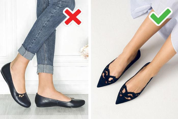 обувь с круглым носом