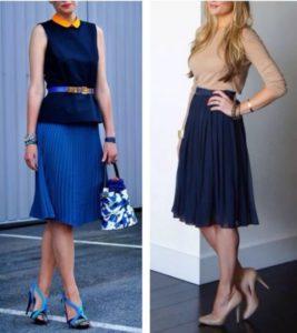 30 лет синяя юбка