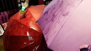 Зонты со скрытым рисунком
