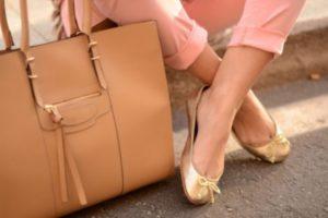 сумка и балетки