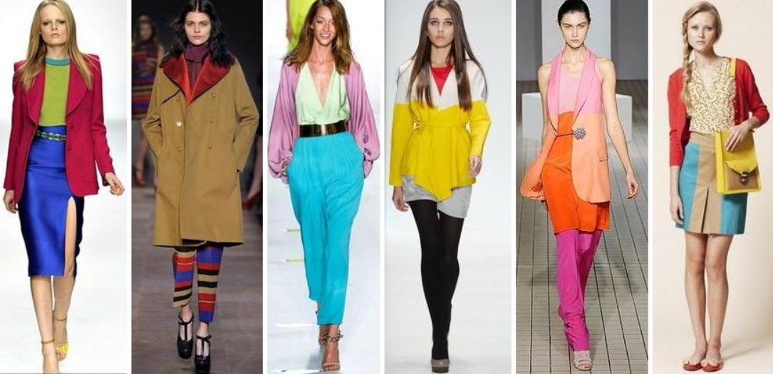 4 цвета в одежде