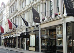 магазины в лондоне