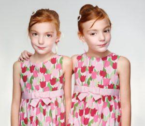 рыжие близняшки