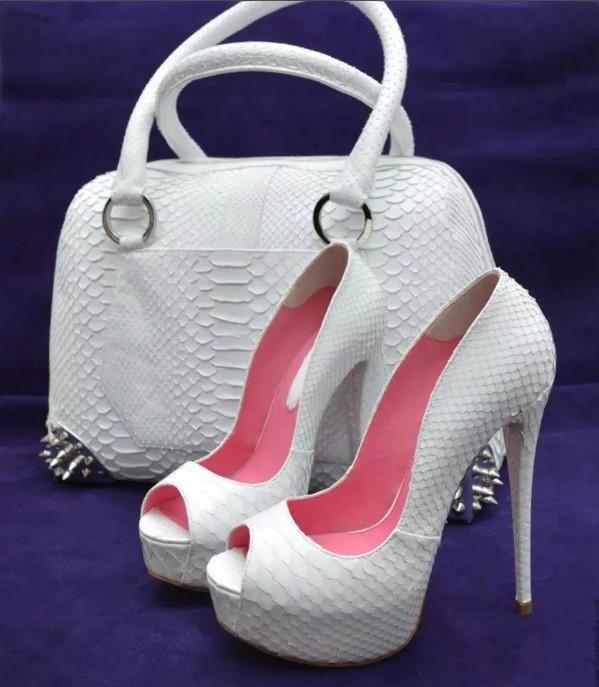 белая обувь 1