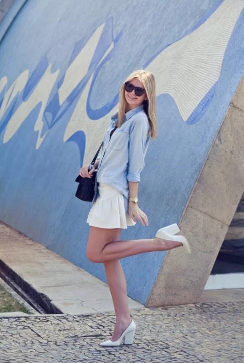 белая туфли 2
