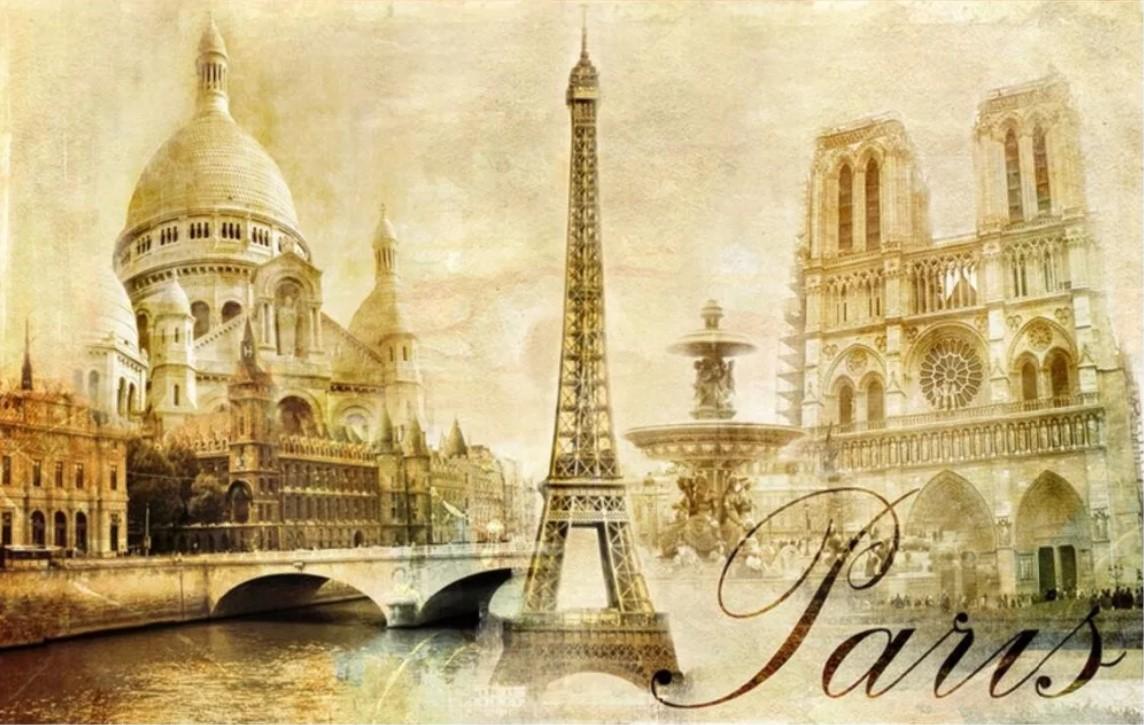 франция эйфелева башня