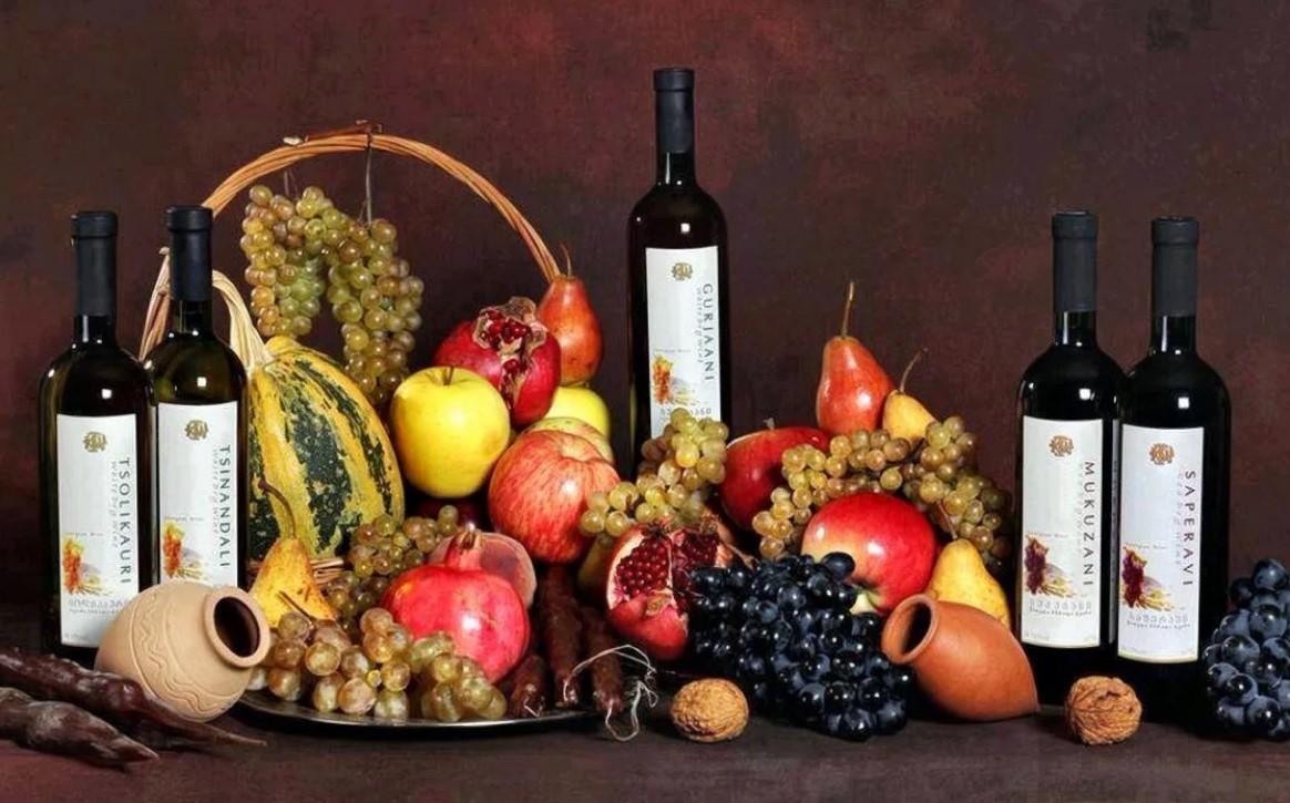 грузия вина