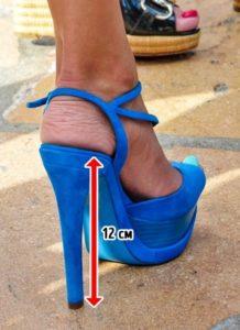 каблуки 8