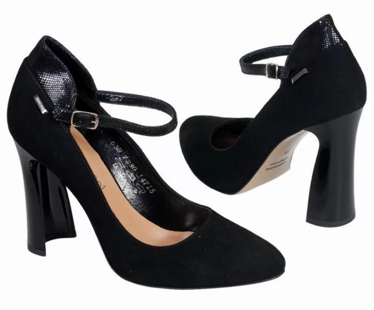 каблуки черные