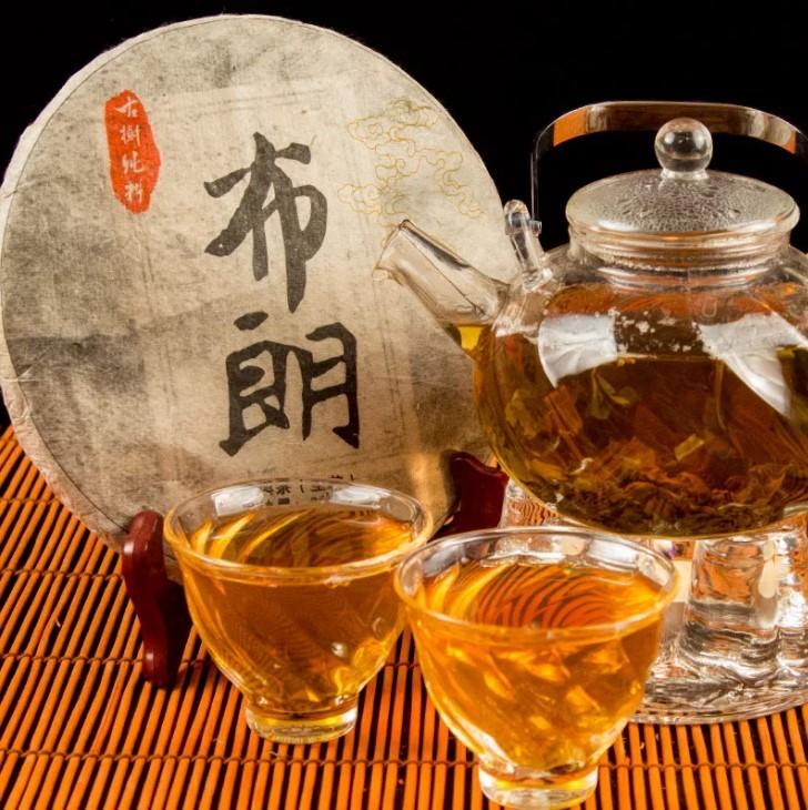 китай чай Шен Пуэр