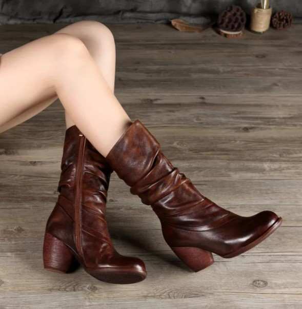 ноги ретро сапоги