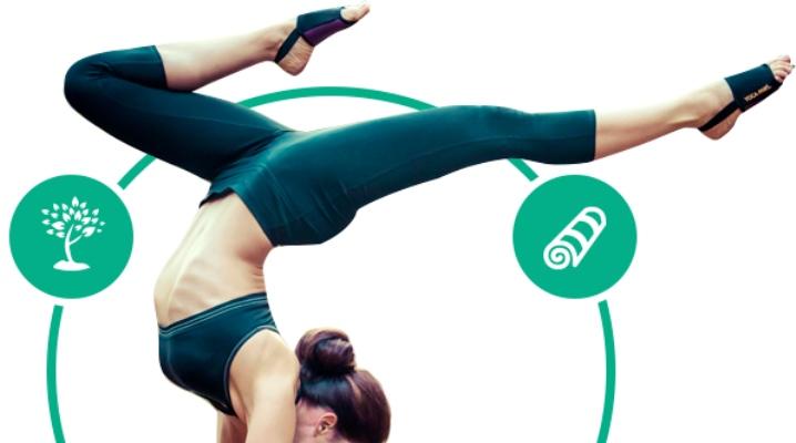 носки без пальцев для йоги