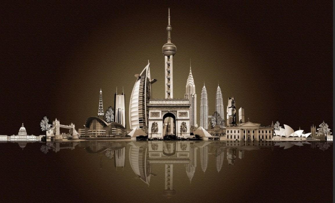 оаэ арабский город у моря