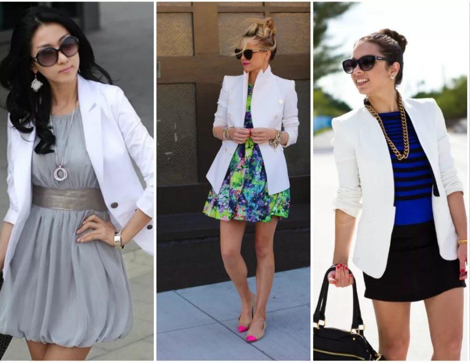 пиджак белый 2