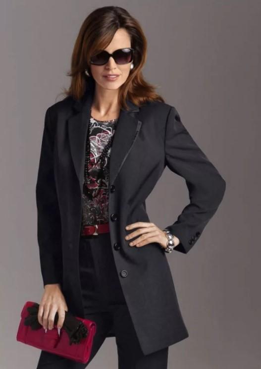 пиджак черный 3